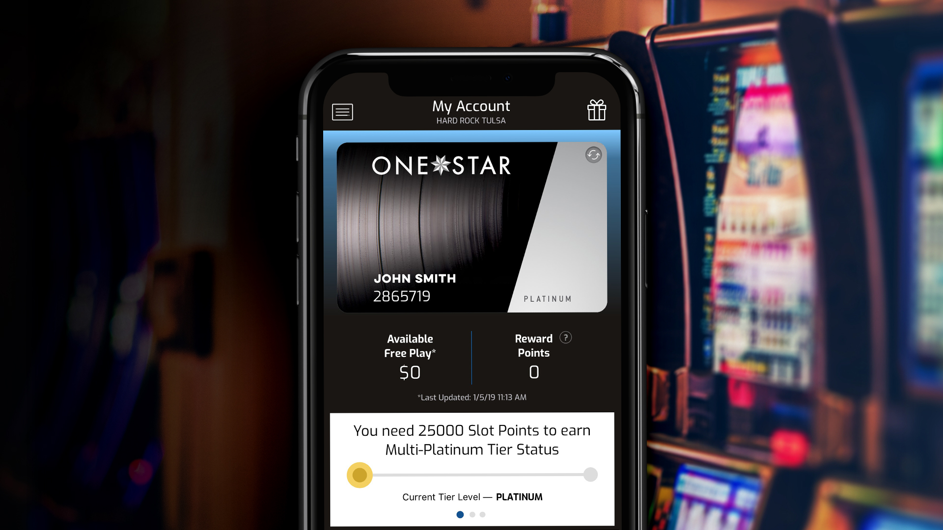 One Star Rewards App
